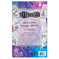 Ranger Ink - Dylusions Image Sheets - Christmas