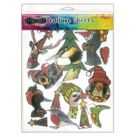 Ranger Ink - Dylusions Collage Sheets - Christmas