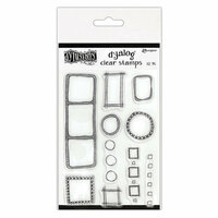 Ranger Ink - Dylusions Dyalog - Clear Acrylic Stamps - All the Right Boxes