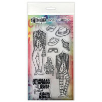 Ranger Ink - Couture Collection - Dylusions Stamps - Clear Acrylic Stamps - A Day at the Races - Duo