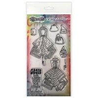 Ranger Ink - Couture Collection - Dylusions Stamps - Clear Acrylic Stamps - Ladies Who Lunch - Duo