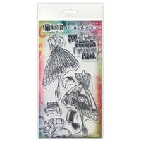 Ranger Ink - Couture Collection - Dylusions Stamps - Clear Acrylic Stamps - Night At the Opera - Duo