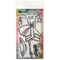 Ranger Ink - Couture Collection - Dylusions Stamps - Clear Acrylic Stamps - Walk in the Park