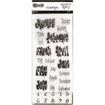 Ranger Ink - Dylusions Creative Dyary - Clear Acrylic Stamp Set