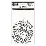 Ranger Ink - Dylusions Creative Dyary - Die Cut Cardstock Pieces - 3