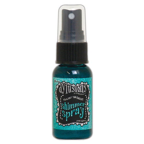 Ranger Ink - Dylusions Shimmer Spray - Vibrant Turquoise
