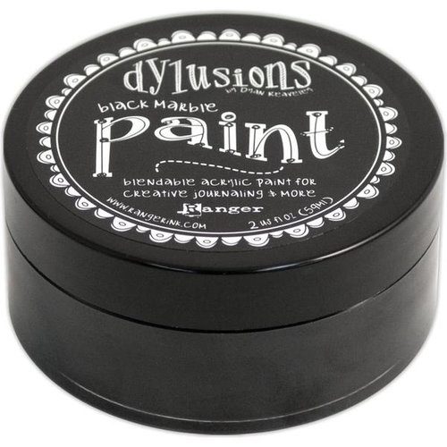 Ranger Ink - Dylusions Paint - Black Marble