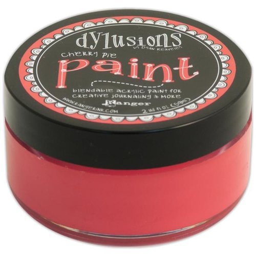 Ranger Ink - Dylusions Paints - Cherry Pie