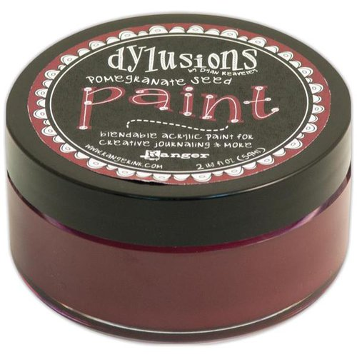 Ranger Ink - Dylusions Paints - Pomegranate Seed