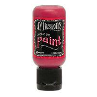 Ranger Ink - Dylusions Paints - Flip Cap Bottle - Cherry Pie