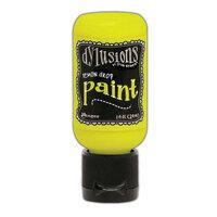 Ranger Ink - Dylusions Paints - Flip Cap Bottle - Lemon Drop