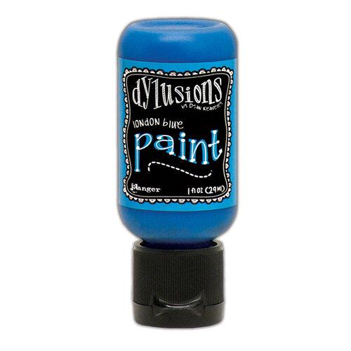 Ranger Ink - Dylusions Paints - Flip Cap Bottle - London Blue