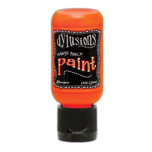 Ranger Ink - Dylusions Paints - Flip Cap Bottle - Mango Punch