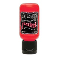 Ranger Ink - Dylusions Paints - Flip Cap Bottle - Strawberry Daiquiri