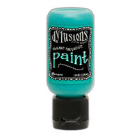 Ranger Ink - Dylusions Paints - Flip Cap Bottle - Vibrant Turquoise