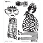 Ranger Ink - Dylusions Stamps - Unmounted Rubber Stamps - Escape