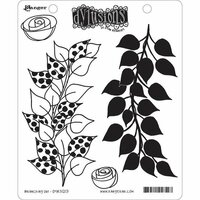 Ranger Ink - Dylusions Stamps - Unmounted Rubber Stamps - Branching Out