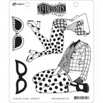 Ranger Ink - Dylusions Stamps - Unmounted Rubber Stamps - I Can See Clearly