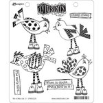 Ranger Ink - Dylusions Stamps - Unmounted Rubber Stamps - Put a Bird On It