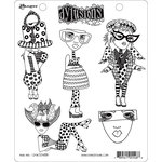 Ranger Ink - Dylusions Stamps - Unmounted Rubber Stamps - Mini Me
