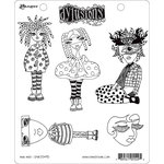 Ranger Ink - Dylusions Stamps - Unmounted Rubber Stamps - Mini Moo