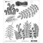 Ranger Ink - Dylusions Stamps - Unmounted Rubber Stamps - Oodles of Foliage