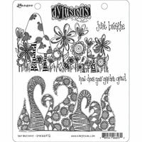 Ranger Ink - Dylusions Stamps - Cling Mounted Rubber Stamps - Just Breathe