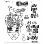 Ranger Ink - Dylusions Stamps - Cling Mounted Rubber Stamps - Never Forget Your Sparkle