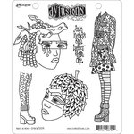 Ranger Ink - Dylusions Stamps - Cling Mounted Rubber Stamps - Nuts in May