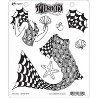 Ranger Ink - Dylusions Stamps - Unmounted Rubber Stamps - Merlady