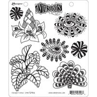 Ranger Ink - Dylusions Stamps - Unmounted Rubber Stamps - Foliage Fillers