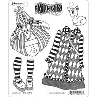 Ranger Ink - Dylusions Stamps - Unmounted Rubber Stamps - Maisie Lilly