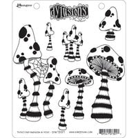 Ranger Ink - Dylusions Stamps - Unmounted Rubber Stamps - There's Not Mushroom in Here