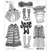 Ranger Ink - Dylusions Stamps - Unmounted Rubber Stamps - Just Be