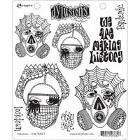 Ranger Ink - Dylusions Stamps - Unmounted Rubber Stamps - Pandemic