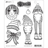 Ranger Ink - Christmas - Dylusions Stamps - Unmounted Rubber Stamps - Any Old Elf