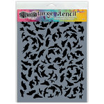 Ranger Ink - Dylusions Stencils - Breeze of Birds - Large