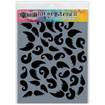 Ranger Ink - Dylusions Stencils - Stash of 'Tache - Large