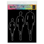 Ranger Ink - Dylusions Stencils - Silhouettes - Emmi