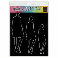 Ranger Ink - Dylusions Stencils - Silhouettes - Jay