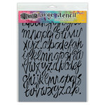 Ranger Ink - Dylusions Stencils - Modern Script - Large