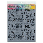 Ranger Ink - Dylusions Stencils - Old School Alpha - Large