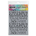 Ranger Ink - Dylusions Stencils - Old School Number - Small