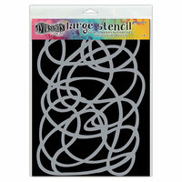 Ranger Ink - Dylusions Stencils - Squiggle - Large