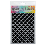 Ranger Ink - Dylusions Stencils - Fishtails - Small