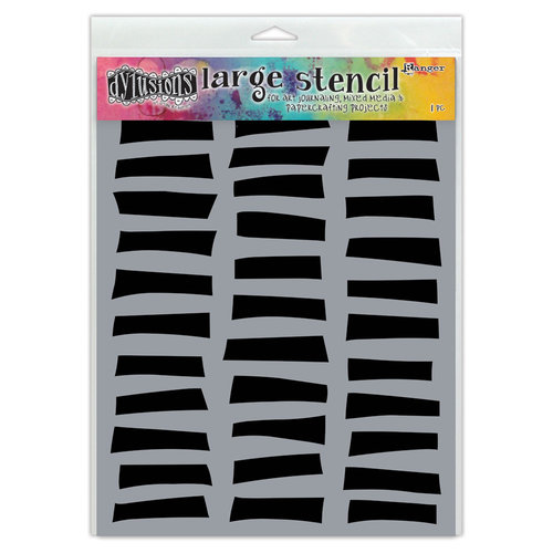 Ranger Ink - Dylusions Stencils - Shutters - Large