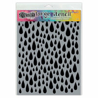 Ranger Ink - Dylusions Stencils - Teardrops - Large