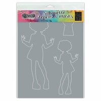 Ranger Ink - Dylusions Stencils - Silhouettes - Maisie