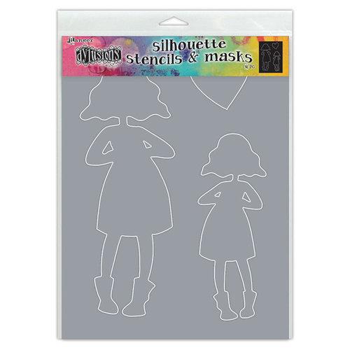 Ranger Ink - Dylusions Stencils - Silhouettes - Martha