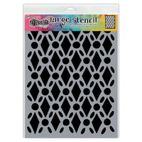 Ranger Ink - Dylusions Stencils - Large - Fancy Floor
